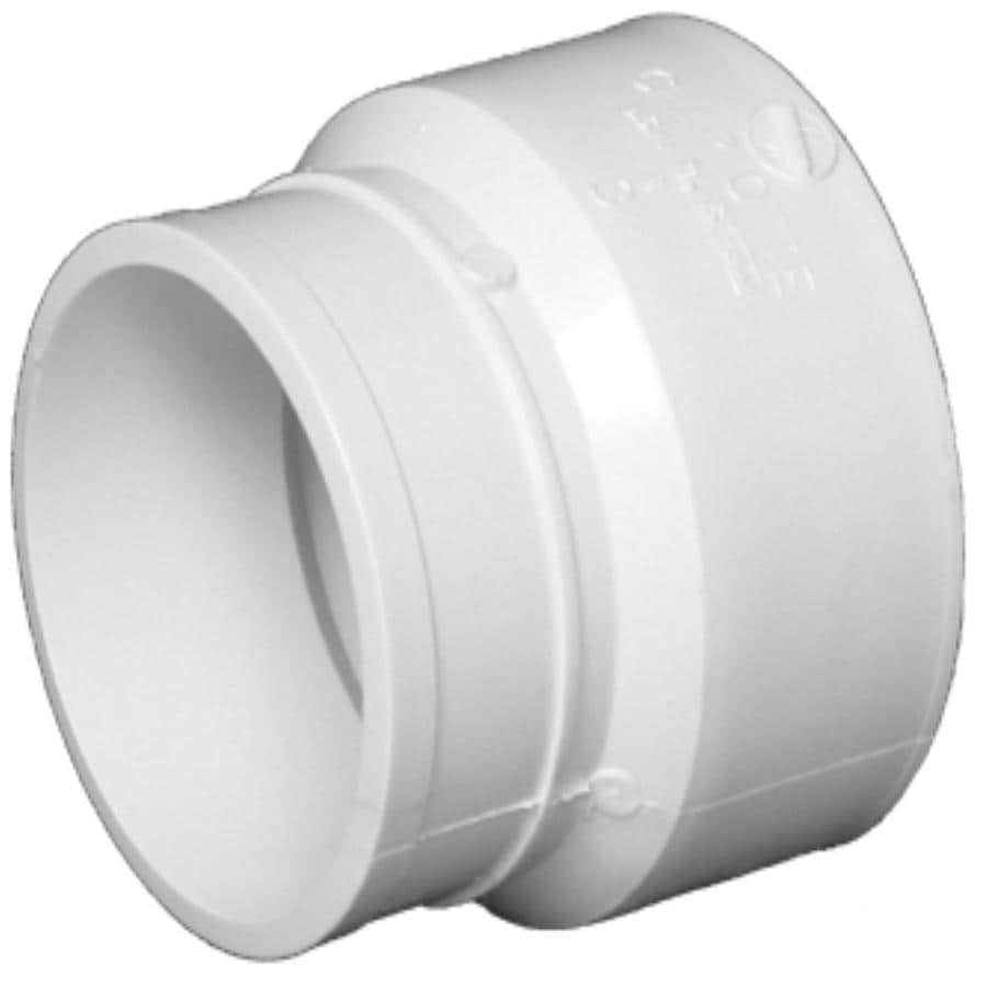 Charlotte Pipe 4 dia PVC Cast-Iron Adapter Fitting