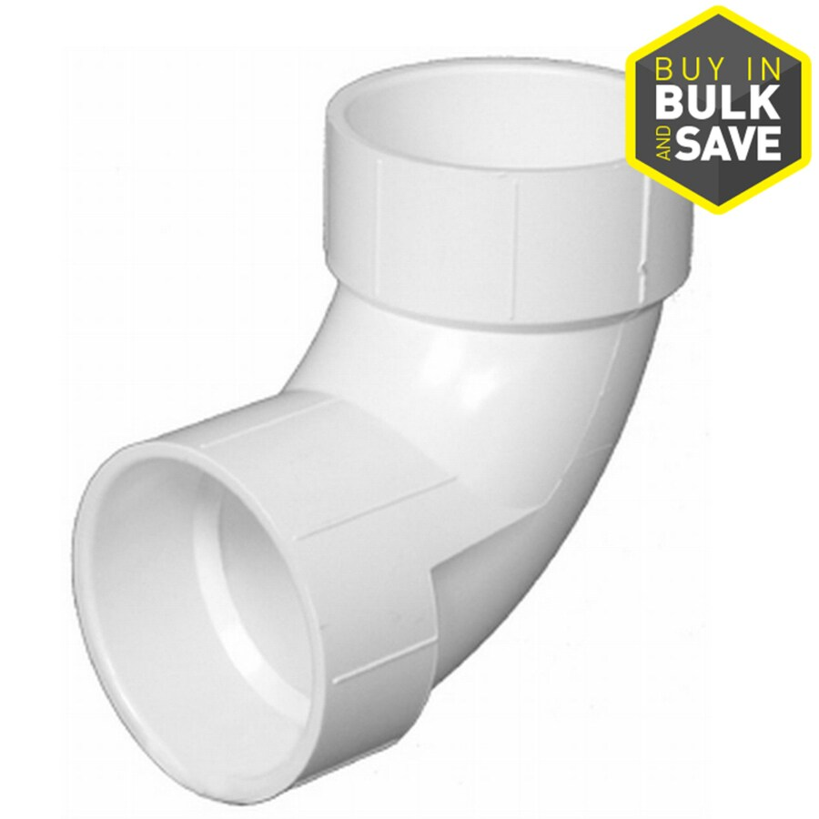 Charlotte Pipe 1-1/2-in Dia 90-Degree PVC Elbow Fitting
