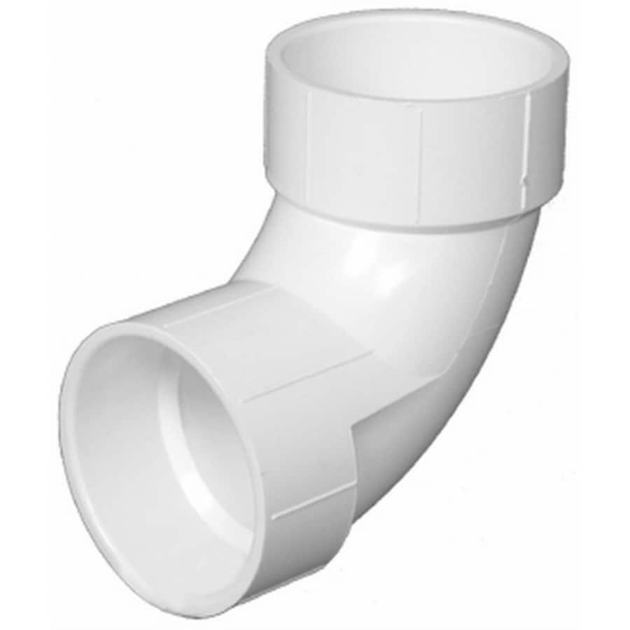 Charlotte Pipe 6-in dia 90-Degree PVC Elbow Fitting