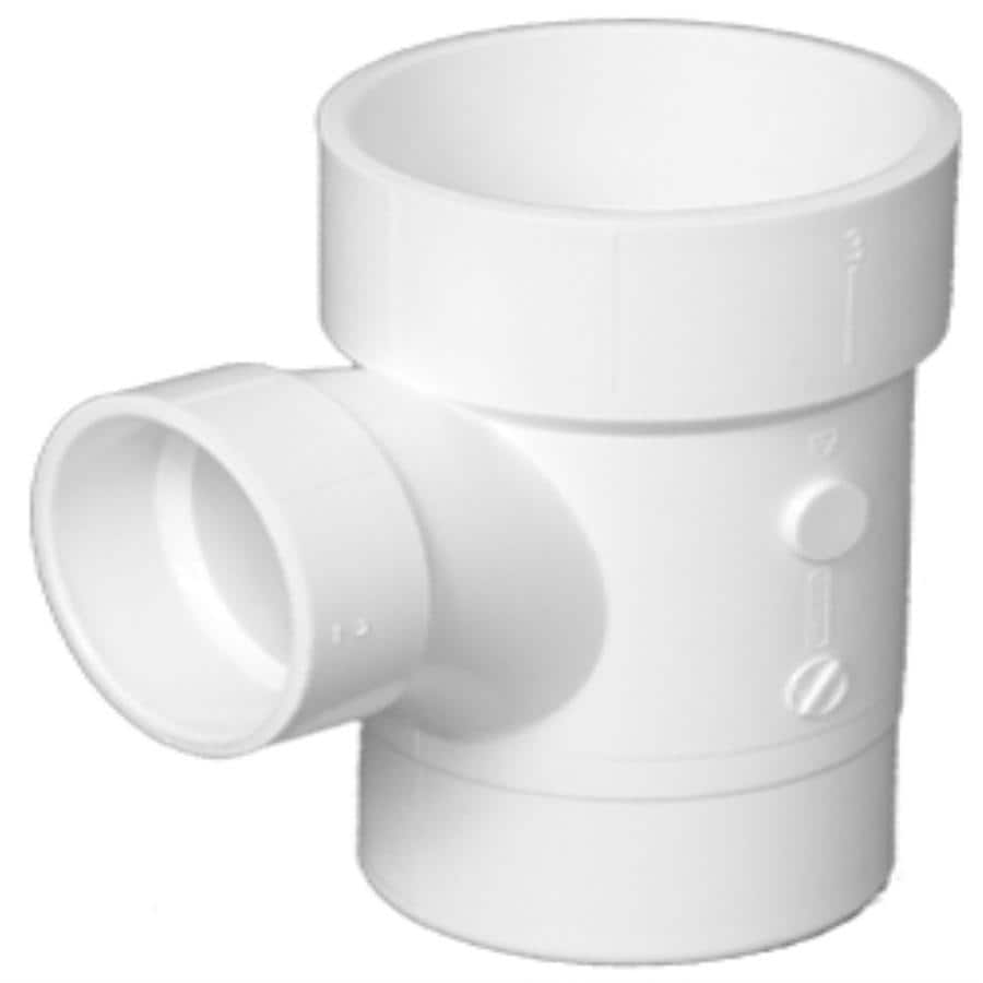 Charlotte Pipe 2-in x 2-in x 1-1/2-in dia 90-Degree PVC Sanitary Street Elbow Fitting