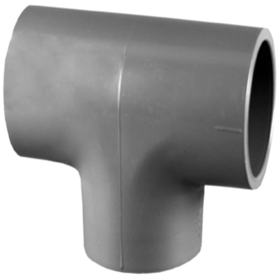 Charlotte Pipe 3/4-in dia PVC Sch 80 Tee
