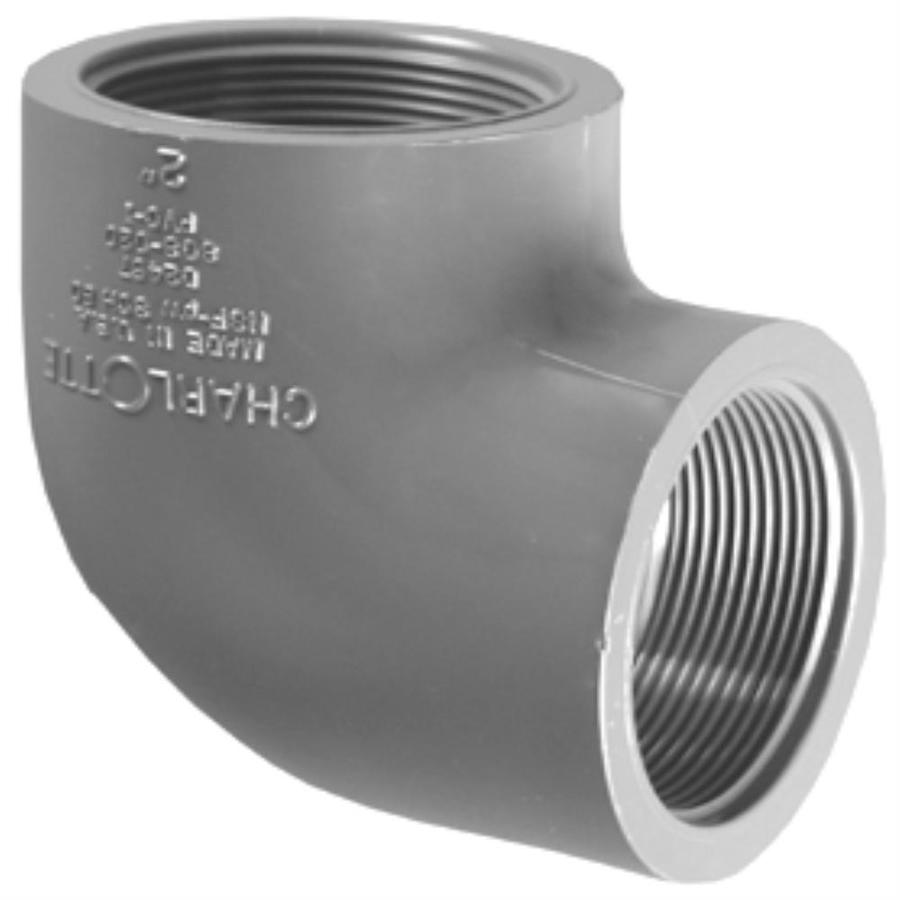 Charlotte Pipe 1-1/4-in dia 90-Degree PVC Sch 80 Elbow