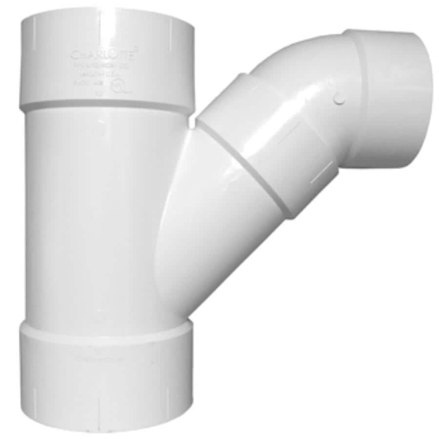 Shop Charlotte Pipe 12 In Dia Pvc Combo Wye Fitting At