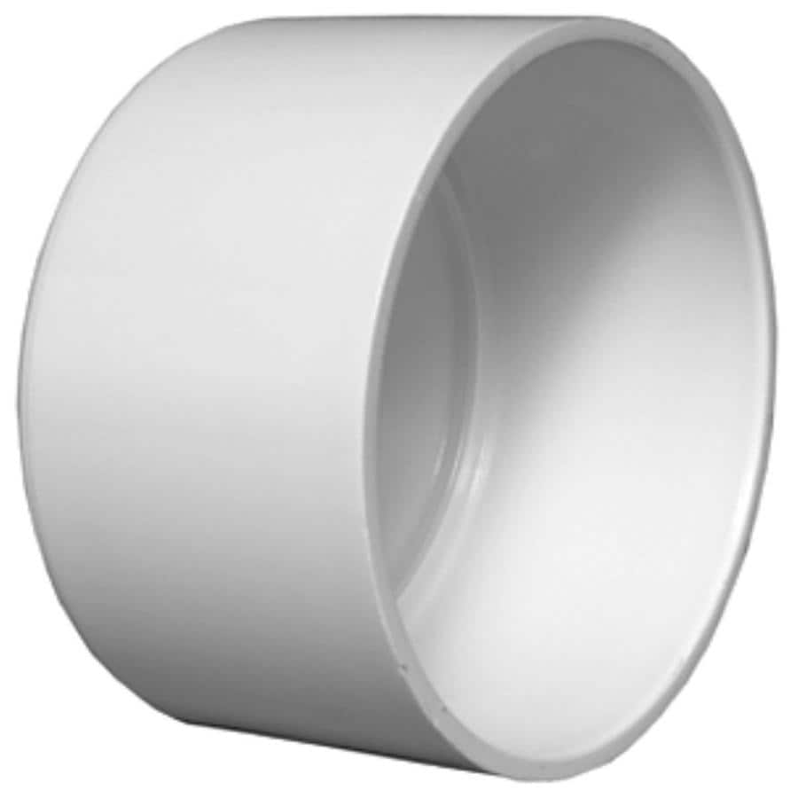 Charlotte Pipe 8-in dia PVC Cap Fitting