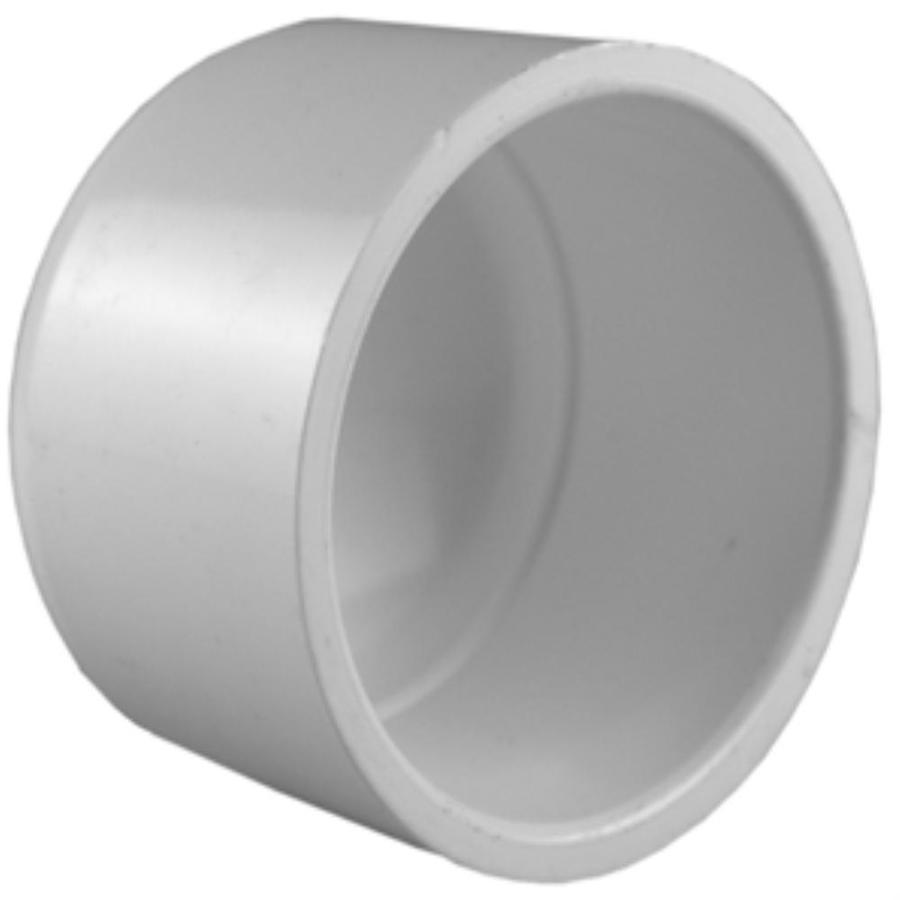 Charlotte Pipe 10-Pack 1/2-in Dia PVC Sch 40 Cap Socket