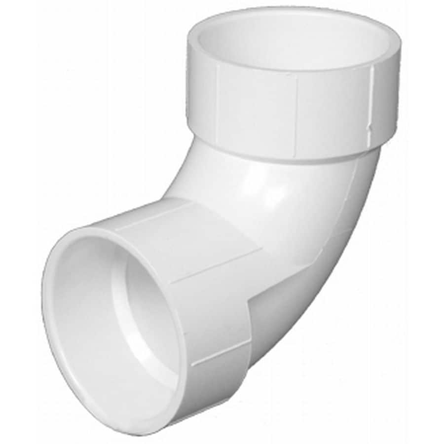Charlotte Pipe 10-Pack 2-in dia 90-Degree PVC Elbow Fitting