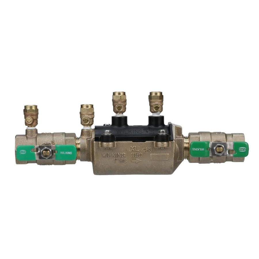 Wilkins 1-in Bronze Female In-Line Backflow Preventer Valve