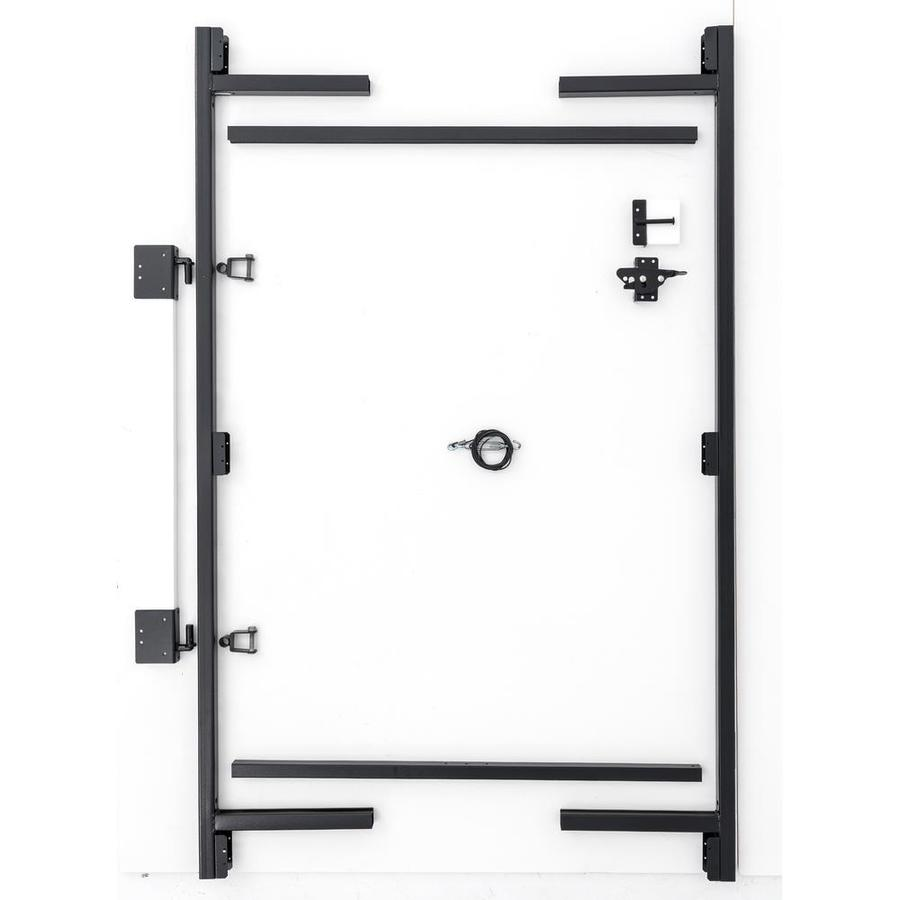 Adjust-A-Gate Contractor's Grade Black Gate Frame Kit