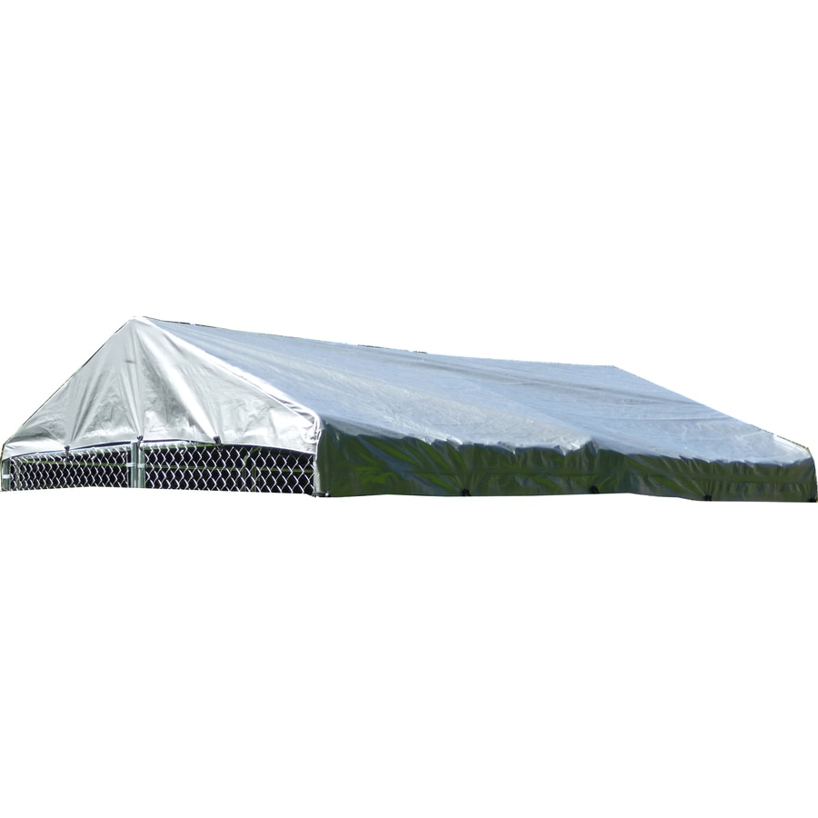 Lucky Dog 120-in L x 120-in W Plastic Roof Kit Kennel Cover