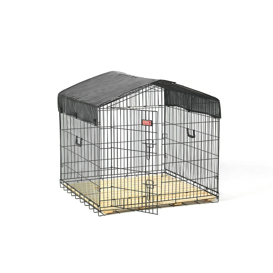 Lucky Dog 3.33-ft x 3.33-ft x 2.67-ft Outdoor Dog Kennel Box Kit
