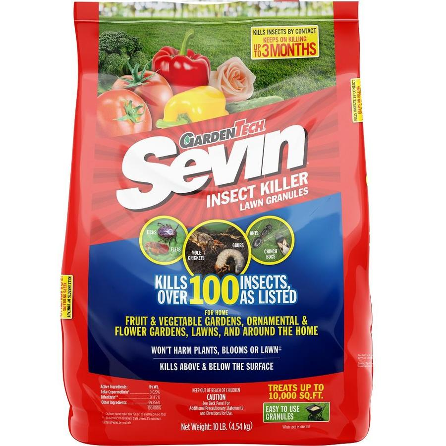 Sevin 10-lb Bag Sevin 2% Lawn Insect Granules