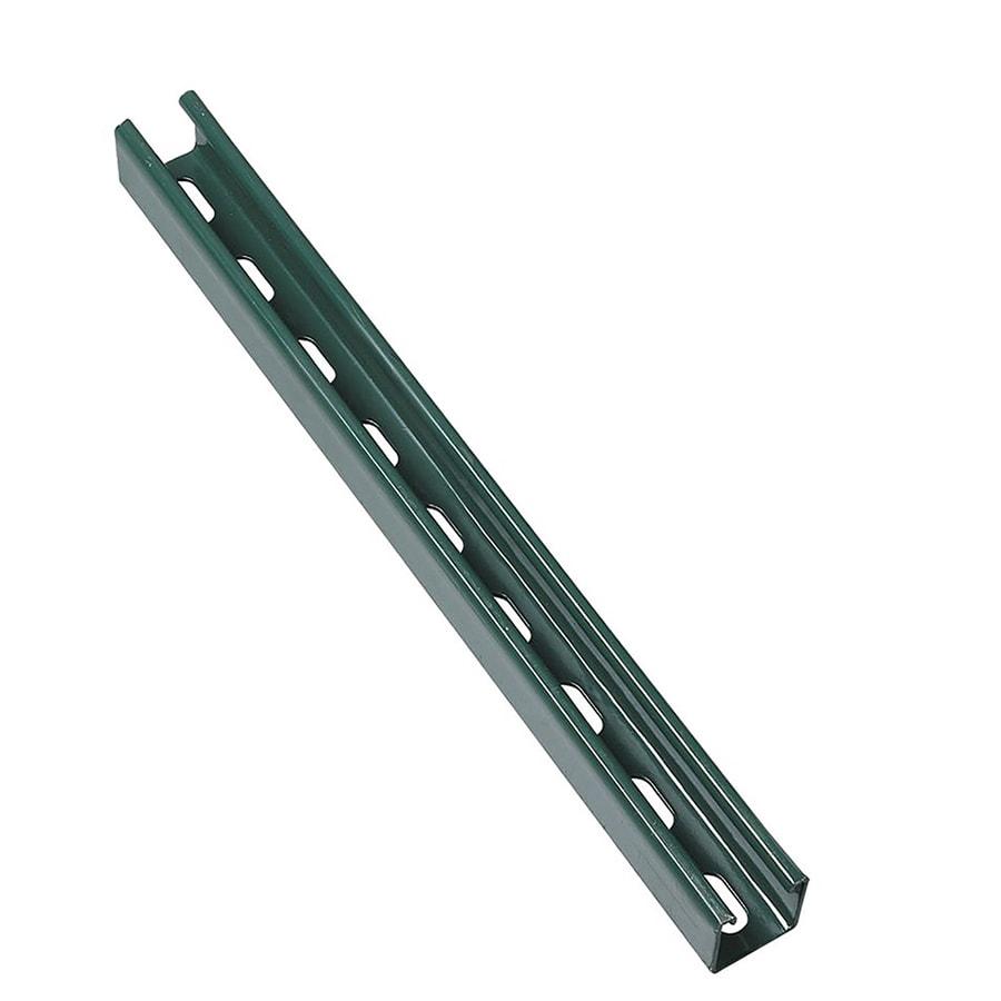 SUPERSTRUT 1-5/8-in x 1-5/8-in Green Paint Half Slot Channel Strut