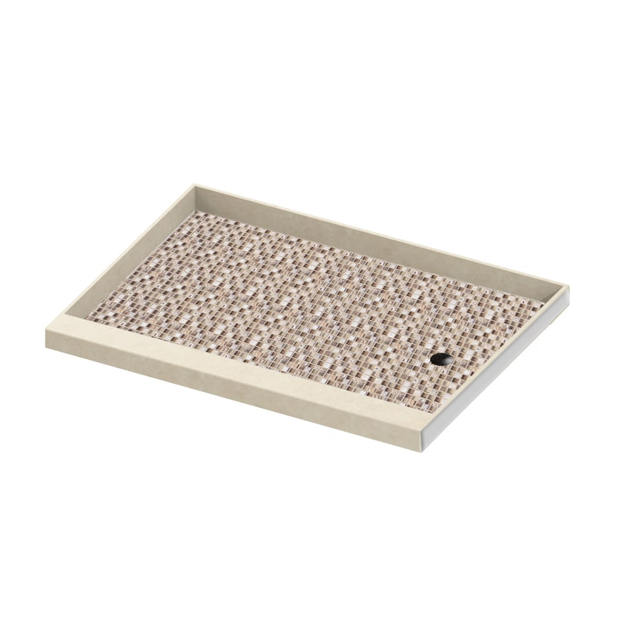 American Bath Factory Mesa Molded Stone Shower Base (Common: 42-in W x 60-in L; Actual: 42-in W x 60-in L)