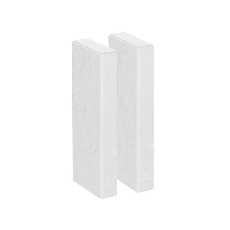 American Bath Factory Light Sistine Stone Shower Wall Trim Kit