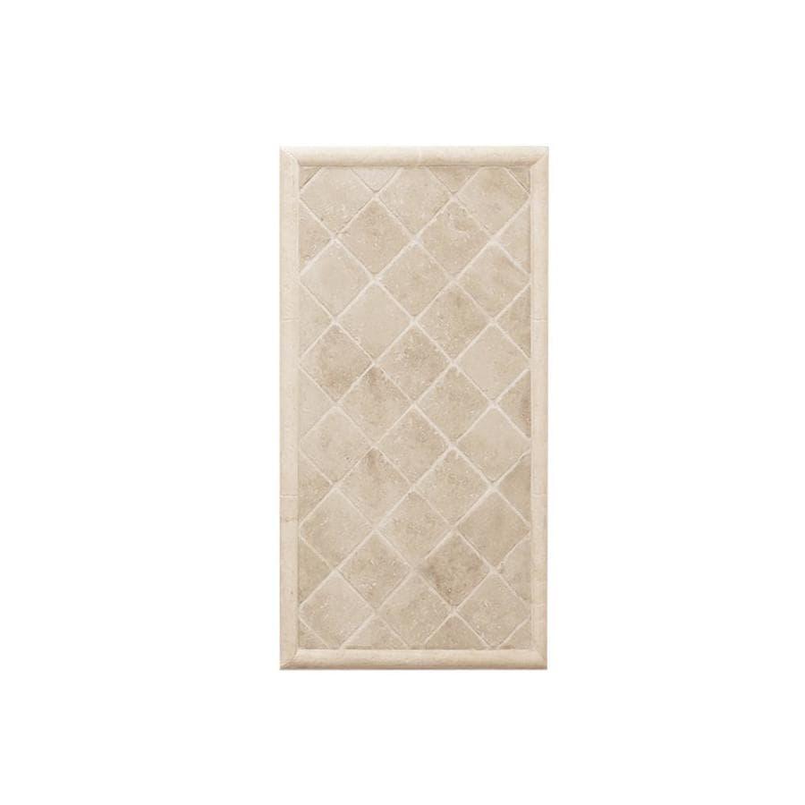 American Bath Factory Medium Sistine Stone with Dark Sistine Stone Accents Shower Wall Trim Kit