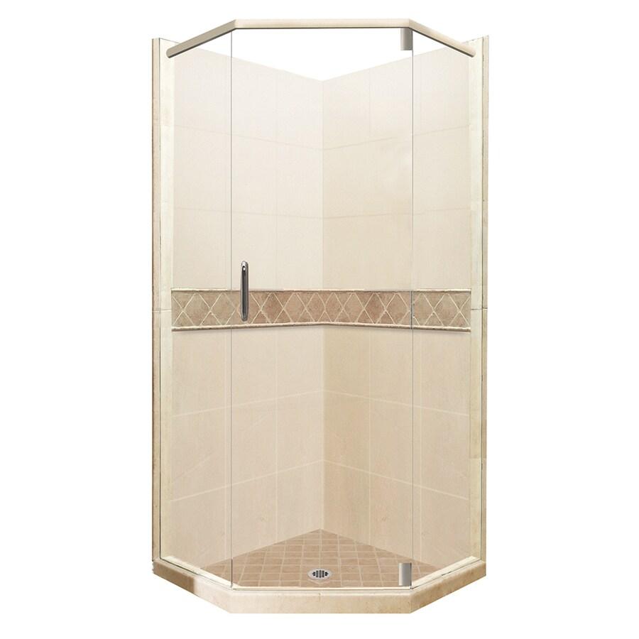 Shop American Bath Factory Flagstaff Medium With Accent Fiberglass And Plasti