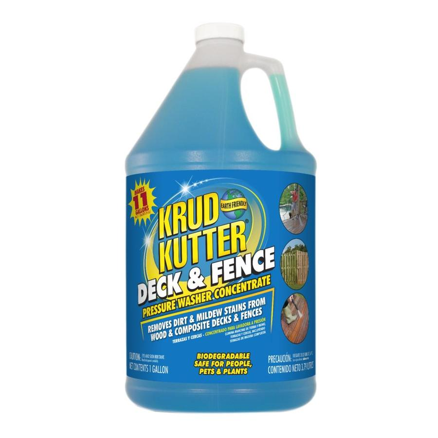 Krud Kutter 1-Gallon Deck and Fence Pressure Washer Concentrate