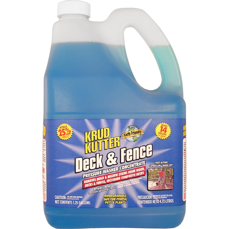 Krud Kutter 1-1/4-Gallon Concentrated Deck and Fence Pressure Washer Chemical