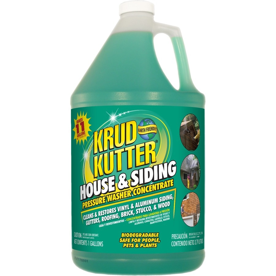 Krud Kutter 1-Gallon House and Siding Pressure Washer Concentrate