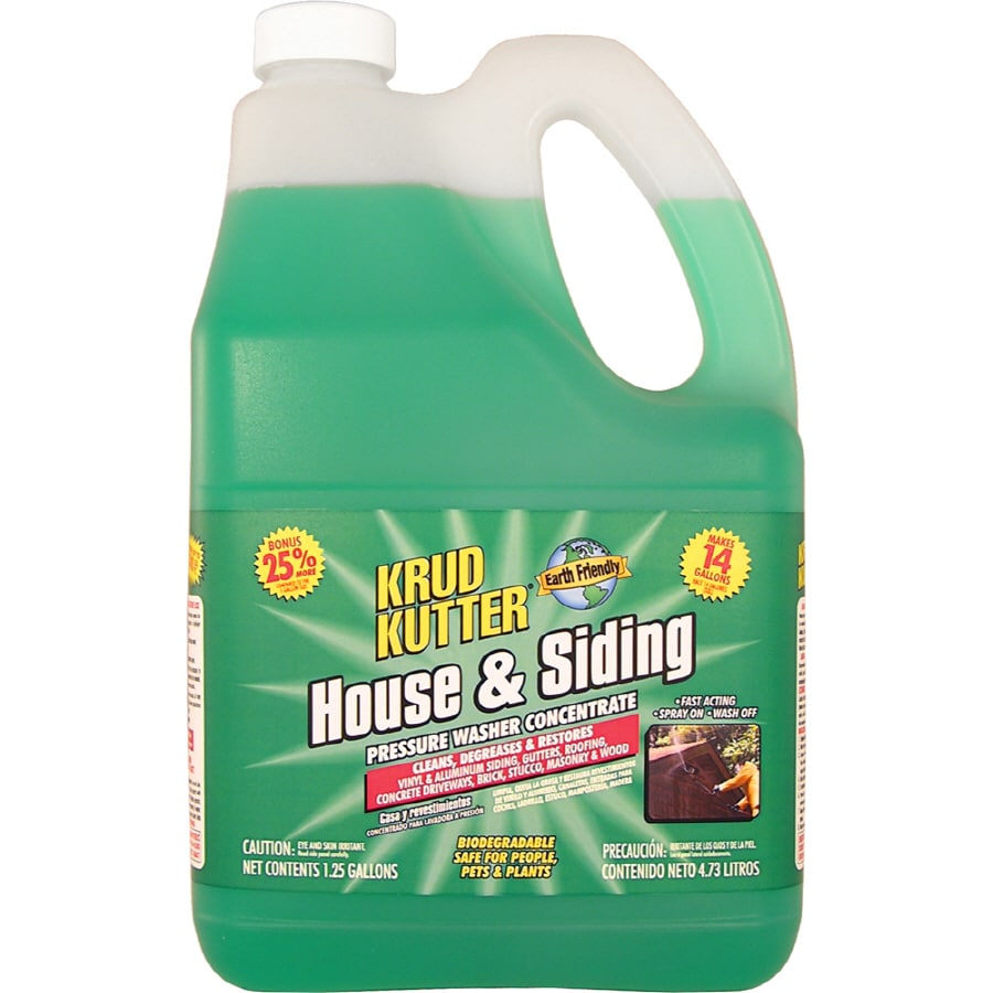 Krud Kutter 1-1/4-Gallon Concentrated House and Siding Cleaner