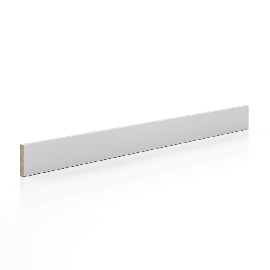K Collection 96-in x 4-in White Cabinet Toe Kick