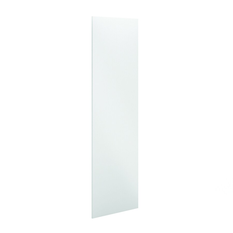 K Collection 30.25-in x 91.25-in White Cabinet End Panel