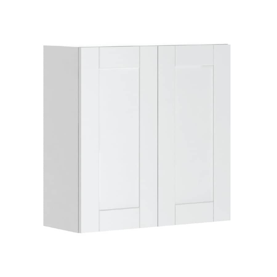 K Collection 30.25-in W x 30.25-in H x 11.625-in D Kambria Door Wall Cabinet