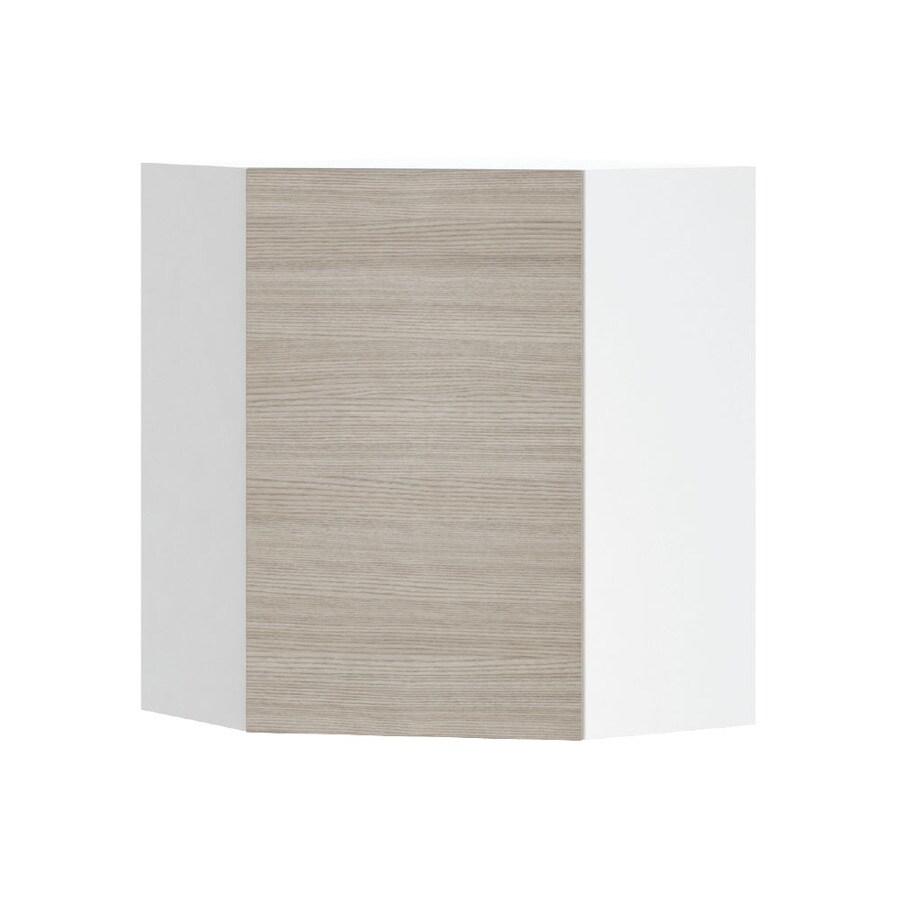 K Collection 24.25-in W x 30.25-in H x 24.25-in D Kaden Slab Corner Wall Cabinet