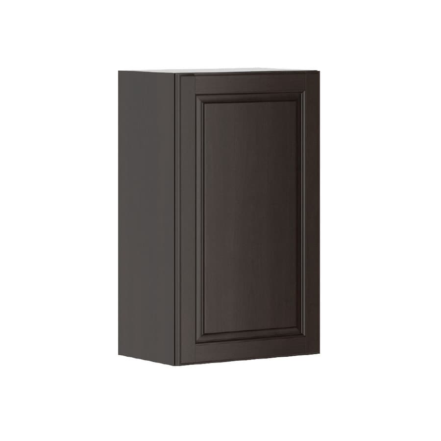 K Collection 17.9375-in W x 30.25-in H x 11.625-in D Stained Kira Birch Door Wall Cabinet
