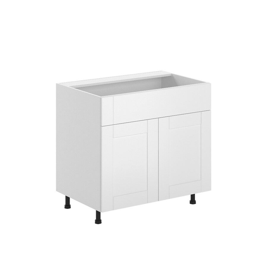 K Collection 35.875-in W x 34.5-in H x 23.625-in D Kambria Sink Base Cabinet