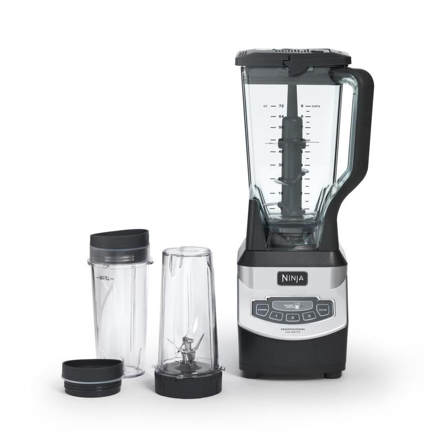 Ninja 72-oz Grey 4-Speed 1100-Watt Pulse Control Blender