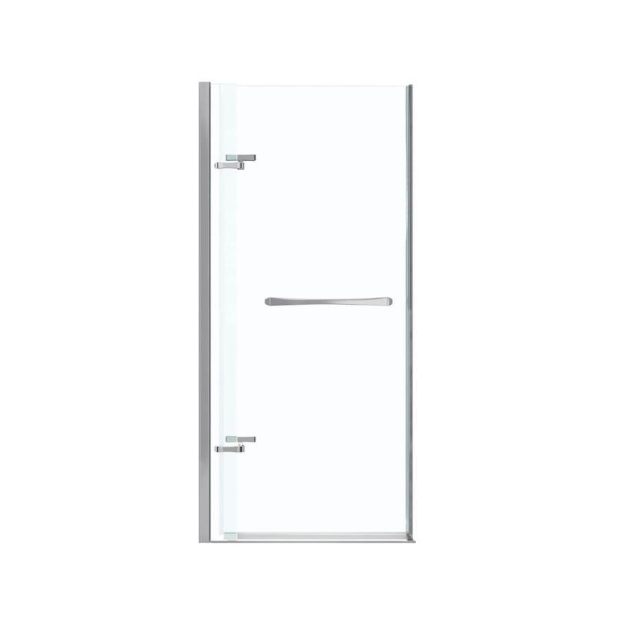 MAAX Reveal 32.5-in to 35.5-in Frameless Pivot Shower Door