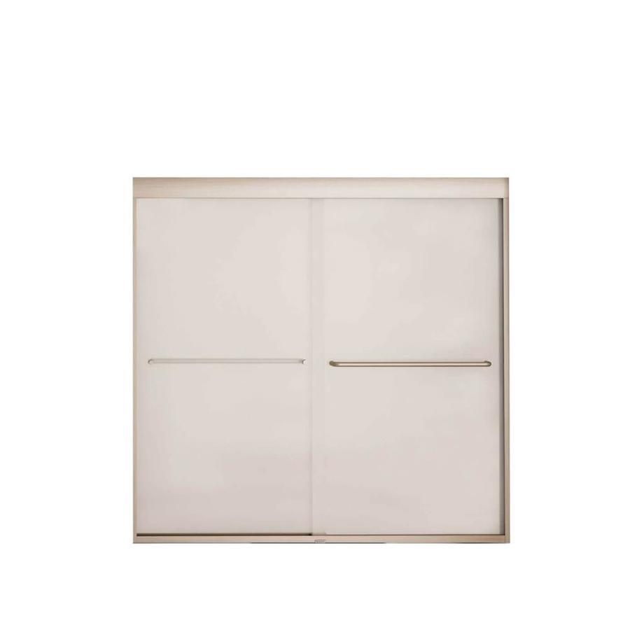 MAAX Aura 6 Tub Door 59-in W x 57-in H Frameless Bathtub Door