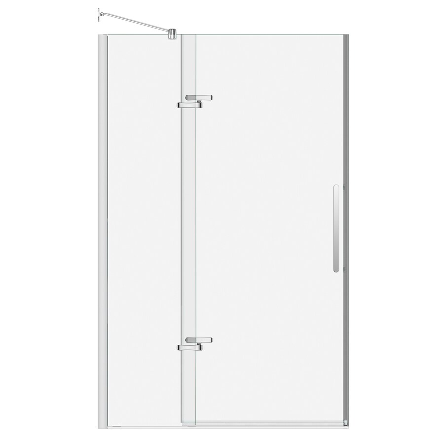 MAAX Bliss 44-in to 47-in Frameless Pivot Shower Door