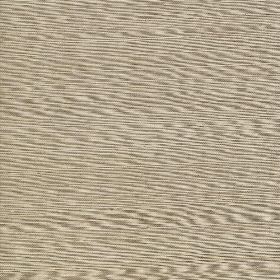 Shop Allen + Roth Beige Grasscloth Unpasted Textured