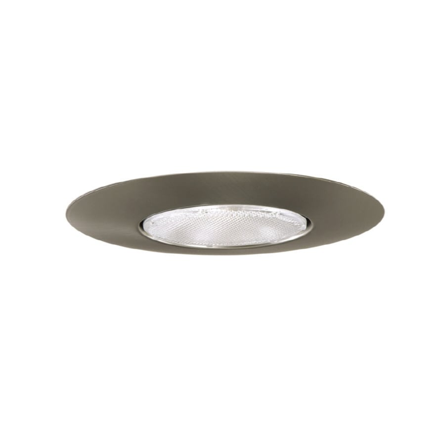 Halo Satin Nickel Open Recessed Light Trim (Fits Housing Diameter: 6-in)