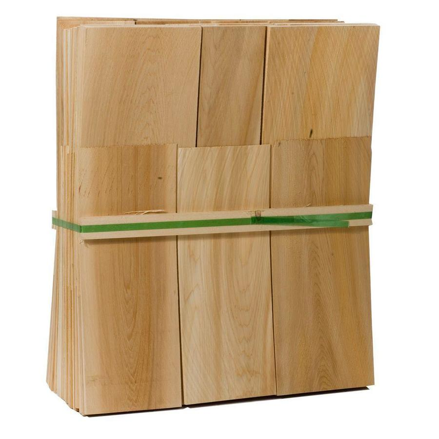 Natural Cedar Untreated Wood Siding Shingles