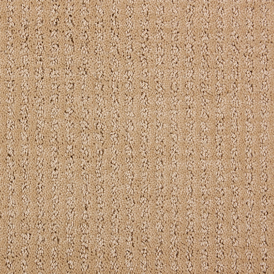 STAINMASTER PetProtect Sardi Maple Wood Cut and Loop Indoor Carpet