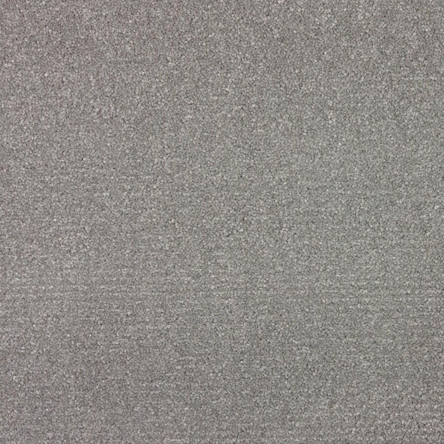 STAINMASTER PetProtect Wembley Metallic Grey Saxony Indoor Carpet
