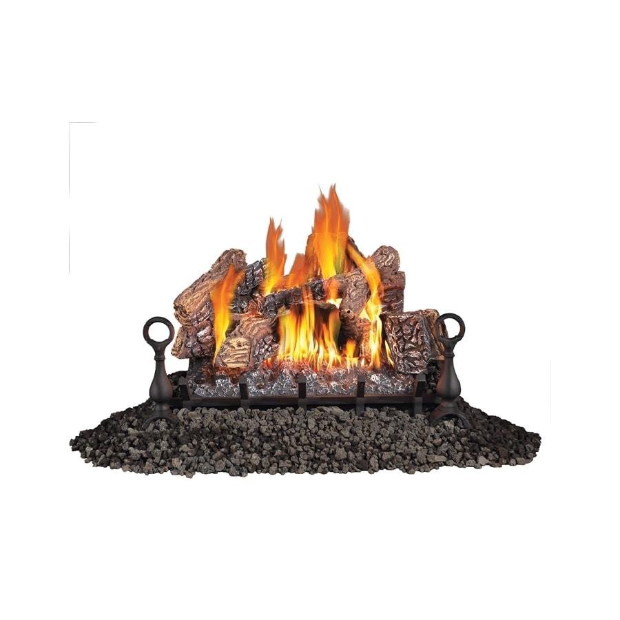 Napoleon Products 30-in 65,000-BTU Single-Burner Vented Gas Fireplace Logs