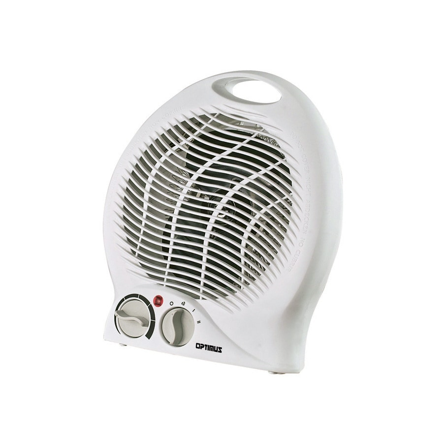 Optimus 5,600-BTU Fan Forced Compact Personal Electric Space Heater with Thermostat
