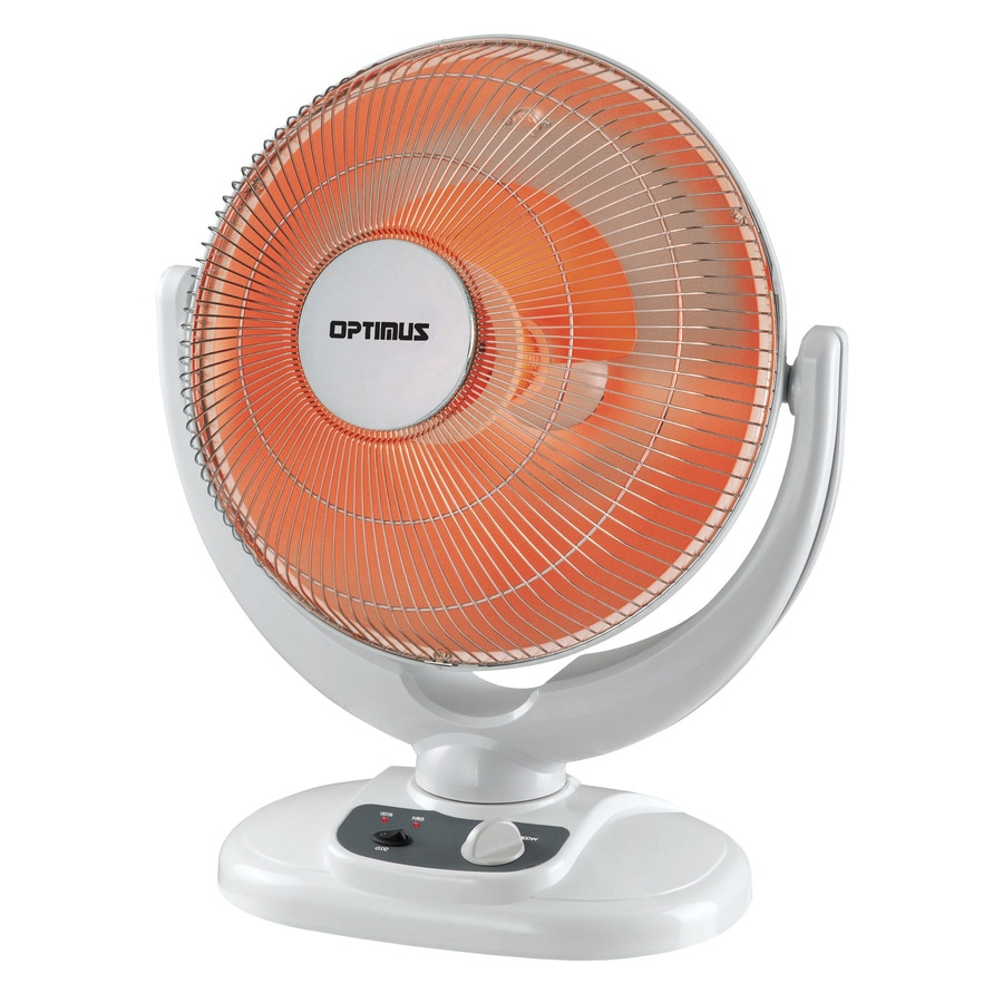 Optimus 5,100-BTU Parabolic Dish Electric Space Heater