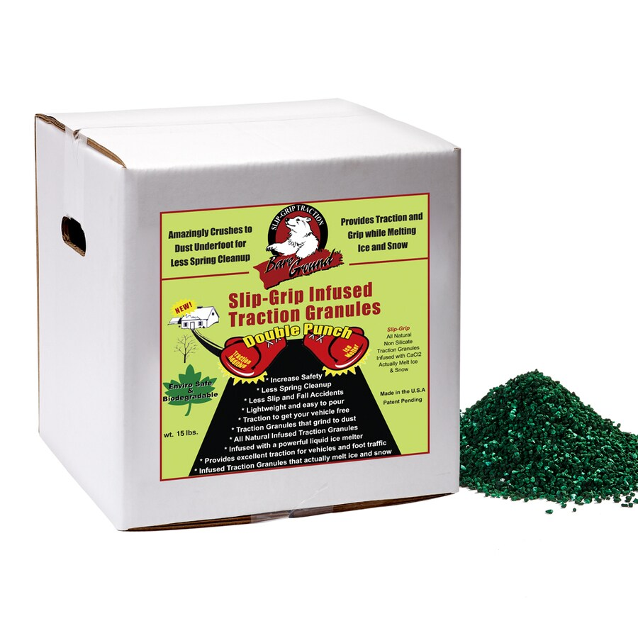 Bare Ground Shaker Slip Grip Infused Traction Granules
