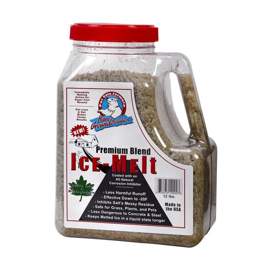 Bare Ground Coated Granular Ice Melt