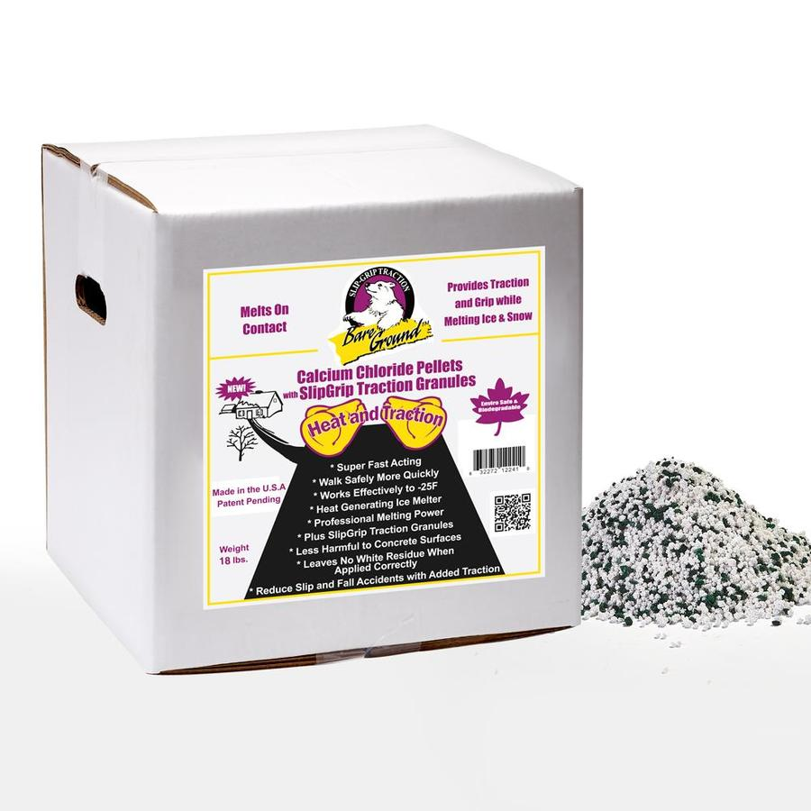 Bare Ground Calcium Chloride Pellets and Traction Granules