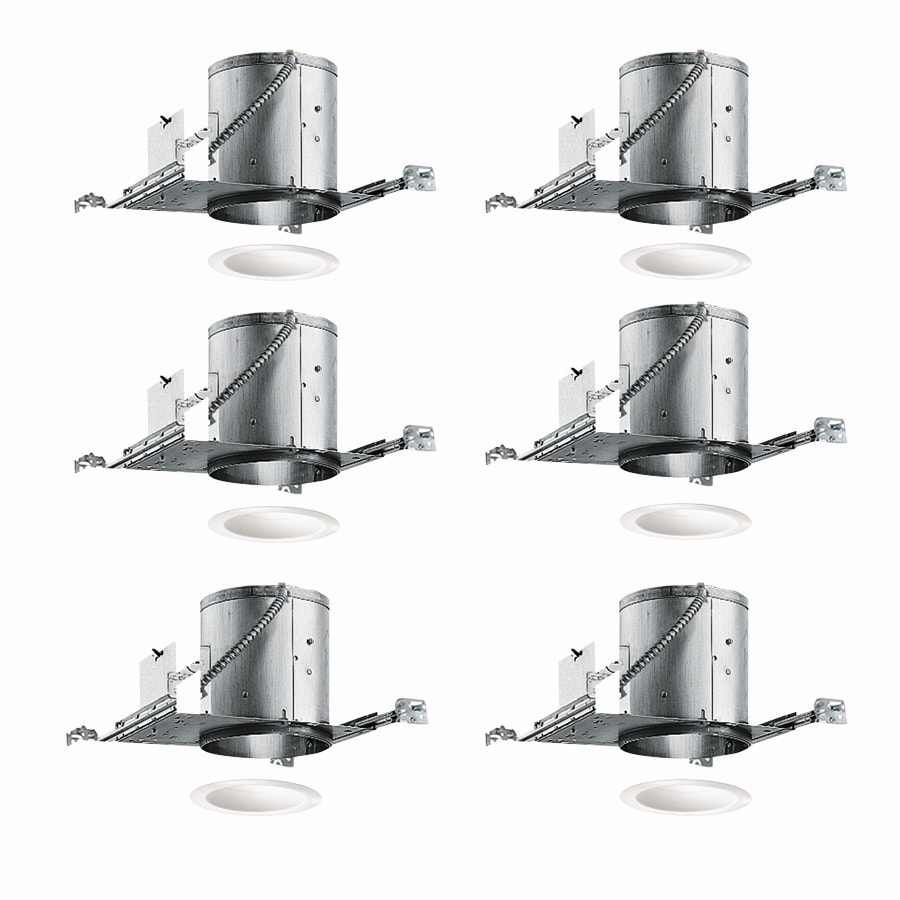 Juno New Construction IC Recessed Light Housing (Common: 6-in; Actual: 6.87-in)