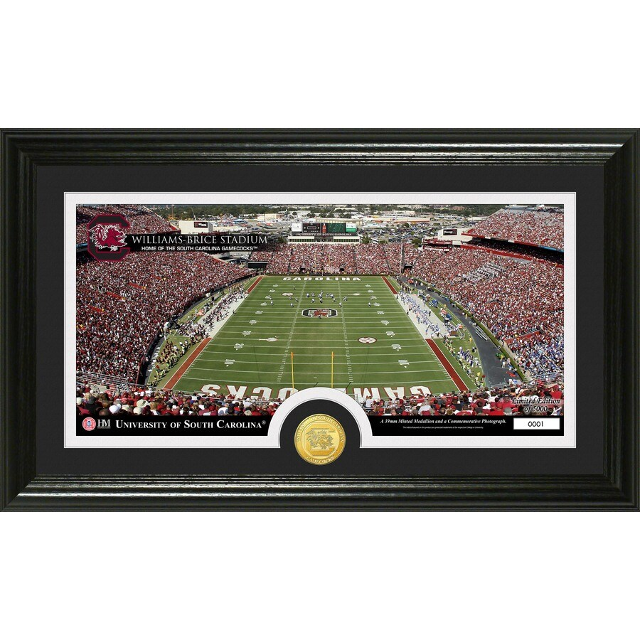 The Highland Mint 20-in W x 12-in H University Of South Carolina Stadium Bronze Coin Panoramic Photo Mint Limited Editions