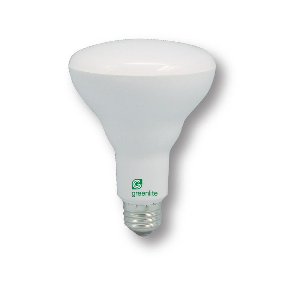 Greenlite 11-Watt (65W Equivalent) 3000K Br30 Medium Base (E-26) Dimmable Bright White Indoor LED Bulb ENERGY STAR