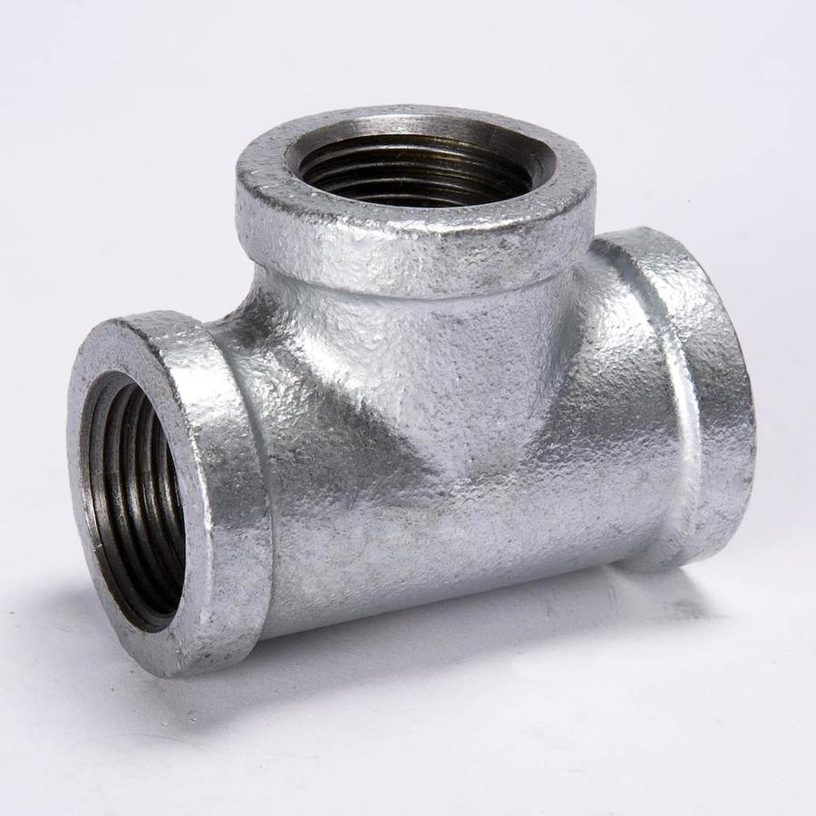Shop b k in dia galvanized tee fittings at lowes