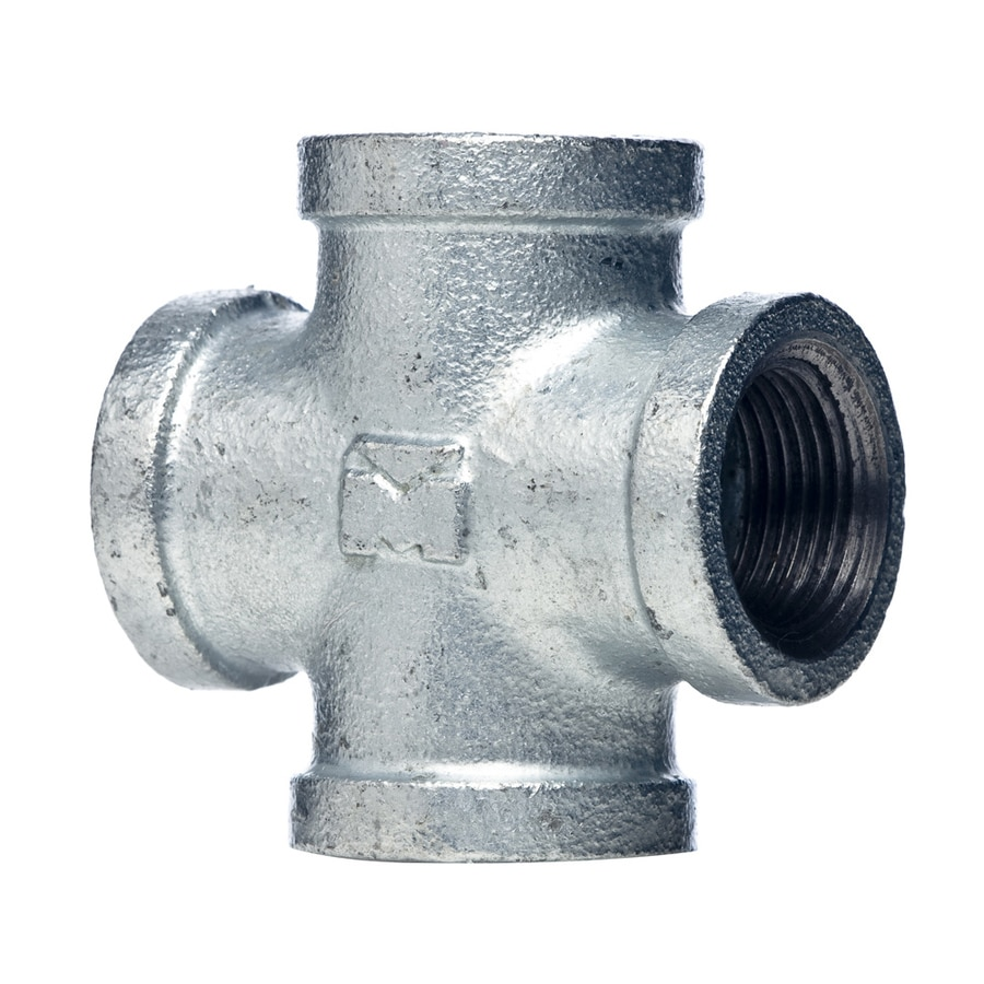 Mueller Proline 3/4-in Dia Galvanized Cross Tee Fitting